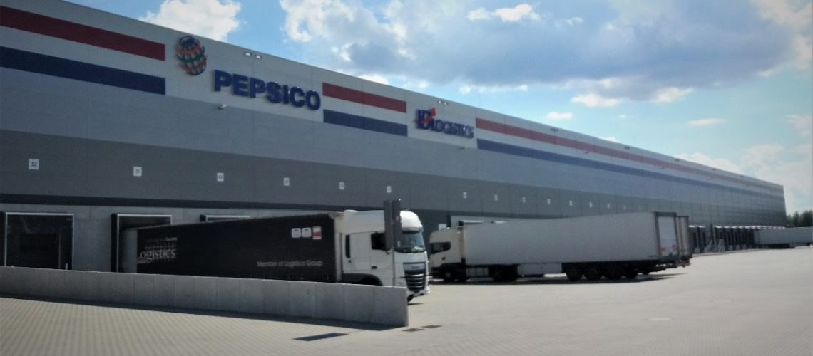 The 58,500 sqm (629,700 sqft) facility is the largest warehouse in PepsiCo Poland's distribution network